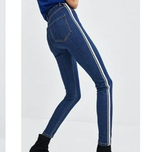 Zara high rise jeans